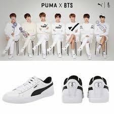Bts Puma Shoes Size Chart Puma X Bts Court Star Shoes Puma Socks Bangtan Boys 366202