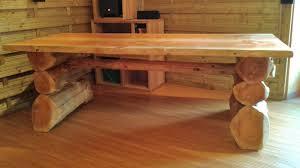 R Alisations Rondins Pyr N Es Constructions En Fuste Elagage Table En Rondins