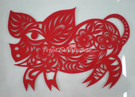 Paper Cutting Patterns Amazing Chinese Paper Cutting Pig Chinese Paper Cutting Chinese Paper