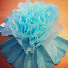 diy giant tissue paper pom flowers, crafts, how to