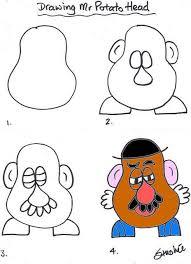 mr potato head drawing. Beautiful Head 01 Mr Potato Head Inside Drawing T
