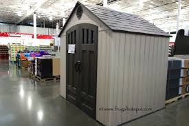 costco lifetime storage shed page 5