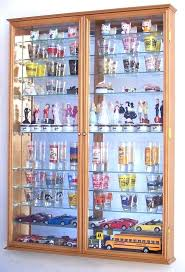 shot glass display cherry finish oak case diy cabinet shot glass inspirational shooter display