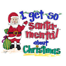 Christmas Notecard I Get So Santa Mental About Christmas Notecard What Do I Say What