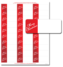 Avery Holiday Label Merry Christmas Address Labels