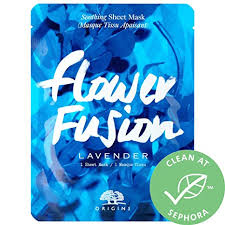 ShopUSAIndia <b>ORIGINS Flower Fusion Lavender</b> Soothing Sheet ...