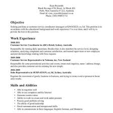 Customer Service Resume Template Free Spartaces Resumes