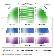 Az Broadway Theater Seating Chart Valid Seating Chart For Broadway Theater Gershwin Theatre
