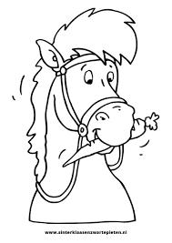 Amerigo Kleurplaat Google Zoeken Sint En Piet Paard Knutselen