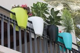 balcony garden. Railing Planter For Balcony Garden, Garden