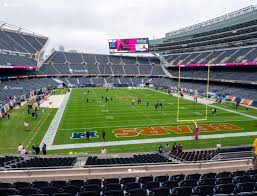 Soldier Field Chicago Bears Seating Chart Soldier Field Section 224 Seat Views Seatgeek