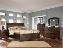 ashleys furniture bedroom sets. ashley porter king bedroom set in burnished brown ashleys furniture sets e
