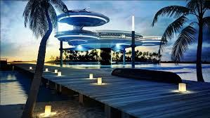 hydropolis underwater resort hotel. Dubai, Hotel Hydropolis Is The First Luxury In World Under Sea. Which Includes Three Elements: A Land Station, Where Guests Are Greeted, Underwater Resort L