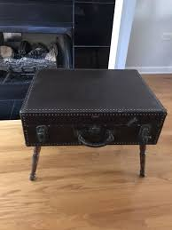coffee table made out of vintage suitcase for in chicago il offerup