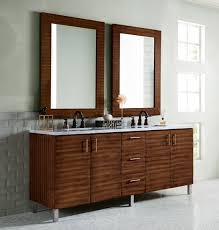 james martin metropolitan double 72 inch modern bathroom vanity american walnut