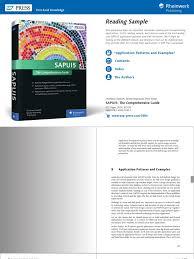 Reading Sample Sappress 1320 SAPUI5 UTM | Use Case | Software ...
