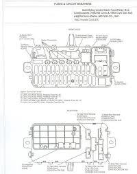 2001 honda civic fuse box layout autobonches com 2009 honda accord relay diagram at 2008 Honda Accord Fuse Box Layout