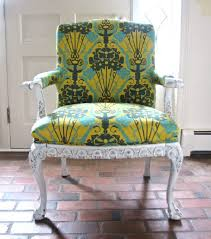 green upholstered chairs. 12 Inspiring DIY Chair Upholstery Ideas : Upholstered Chairs With Green And Yellow Color