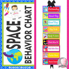 Library Decoration Chart Space Decor Behavior Clip Chart Editable