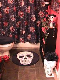Sugar Skull Bathroom Decor Day Of The Dead Bathroom Decor Pinteres