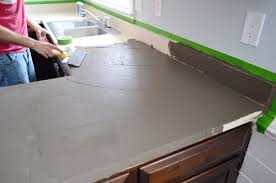 cake and using a big 10 blade made it pretty fast to get the big areas covered the backsplash was another story but we ll get to that in a second