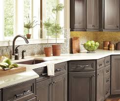 Close up of Hollibrune cabinets in casual kitchen Master bathroom