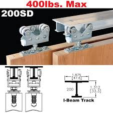 200sd sliding bypass door hardware