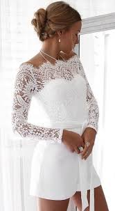 #summer #outfits <b>White Lace</b> Tatiana Playsuit | Confirmation ...