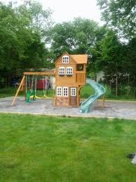 Swing Sets For Indianapolis U2013 Premium And Inexpensive Options Big Backyard Ashberry Wood Swing Set