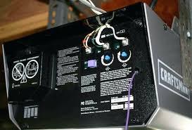 garage door openers sensors craftsman garage door opener sensor wiring diagram genie garage door opener safety