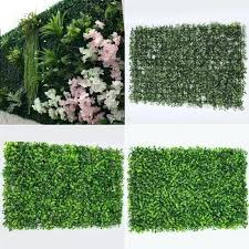 artificial boxwood wall artificial boxwood hedge fake vertical garden green wall ivy mat fence artificial boxwood