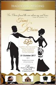 Traditional Wedding Invitation Traditional African Invitations Home Of Email Whatsapp Invitations