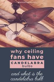 Allen And Roth Ceiling Fan Light Bulb Why Ceiling Fans Have Candelabra Bulbs Allen Roth Home