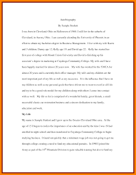 Resume Bio Example 100 Biography Example For Students Emt Resume 66