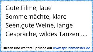 Gute Filme Laue Sommernächte Klare Seengute Weine Lange