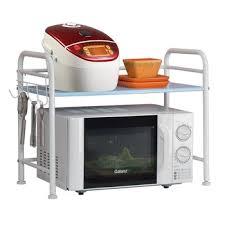 metal rack in microwave. Interesting Rack XM_407B Stand Metal Rack Kitchen Microwave Oven Shelf On Metal In
