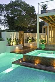 Pool lighting design Inground Fawkner Avenue Is An Ultracontemporary Outdoor Play Space Designed By Cos Design Where The Residents Can Enjoy The Pool Outdoor Dinners And More Pool Spa News 215 Best Pool Lighting Ideas Images In 2019 Pools Small Pools