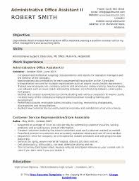 Resume Headline Examples Administrative Resume Samples Examples And Tips
