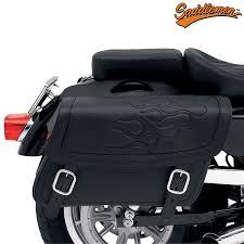 Moto Brašny Saddlemen Highwayman Tattoo Black Jumbo Saddlemen