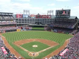 Globe Life Stadium Seating Chart Globe Life Park Texas Rangers Ballpark Ballparks Of Baseball
