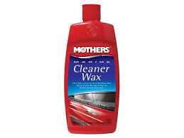 mothers polish 44836m mothers marine cleaner wax