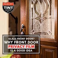 glass front door why front door