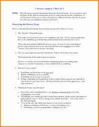 examples of process essay co examples of process essay