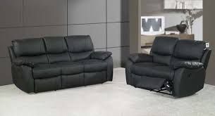 black leather couch. Modern Black Leather Couch