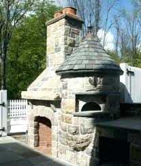 outdoor fireplace with pizza oven kits decorating w