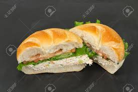 Bound Seafood Salad Sandwich With Mayo ...