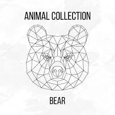 медведь в геометрии геометрический медведь геометрические медведя