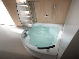 bathroom large size bathroom white corner tub and shower using glass door with combo bathtub