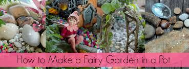 diy fairy garden pot fairy garden