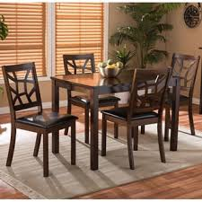 wood kitchen dining room sets at overstock our best dining room bar furniture deals
